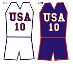 Maillots de USA Basketball