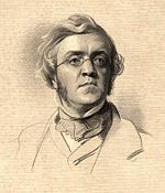 Portrait de William Makepeace Thackeray par Samuel Laurence.