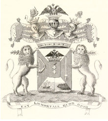 Coat of Arms of Konovnitsyn family (1836).png