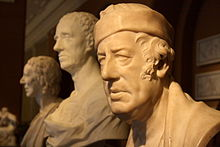 Sculpture de John Raphael Smith faite par Chantry, au Victoria and Albert Museum