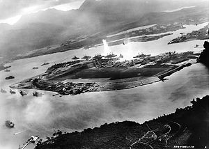 Attack on Pearl Harbor Japanese planes view.jpg